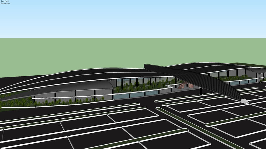International Airport Redesign Ahmad Yani SPA VI