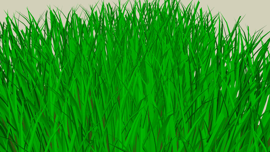 3d Grass 1ft Square