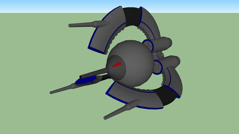 CIS Droid Tri-Fighter