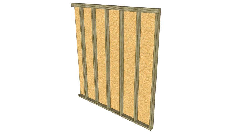 2x4 Stud Wall