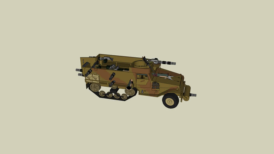 BATTLE HALFTRACK
