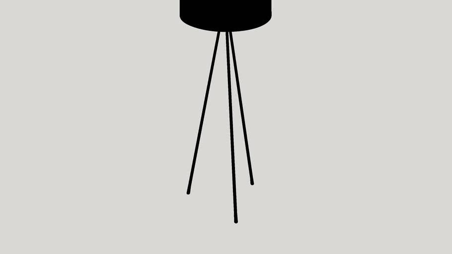 "Buckland 59"" Tripod Floor Lamp"