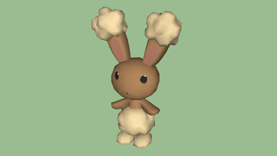 pokemon buneary 3D