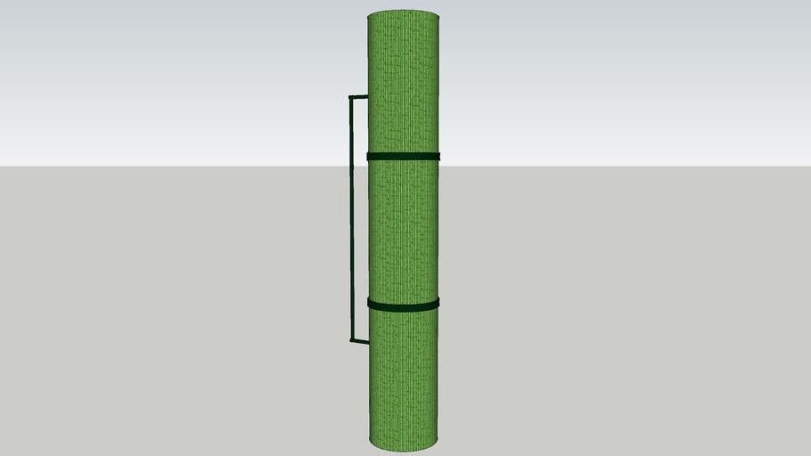 Green Bamboo Wall Lamp