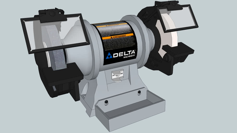 "Delta 8"" slow-speed bench grinder"
