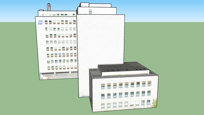 Bygning i København, Danmark Part 3
