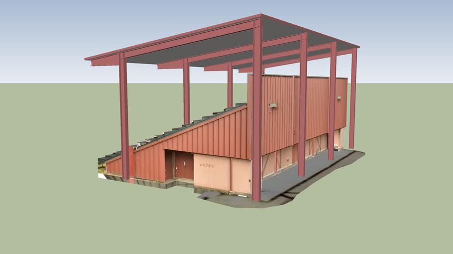 Skamania County Fairgrounds Grandstands