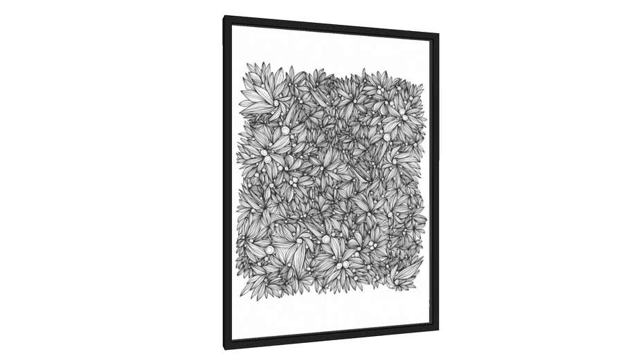 Quadro Mural Floral - Galeria9, por Michelle Cruz