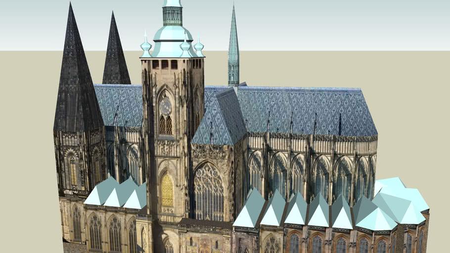 Prague Castle St. Vitus Cathedral