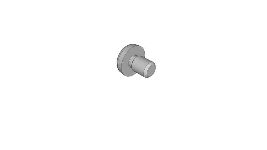 0703108501 Slotted pan head screws DIN 85 AM3.5x5