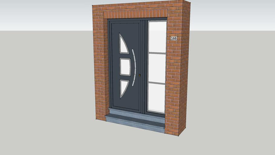 Front PVC door