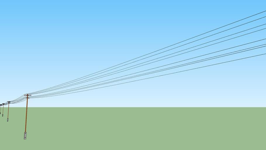 Hungarian Telecommunication Poles - Example line