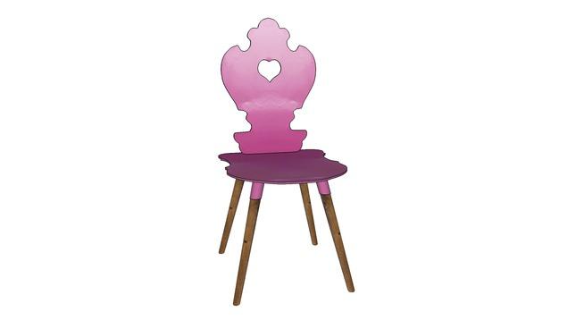 Chair Adelheid Pink Stuhl Adelheid Pink