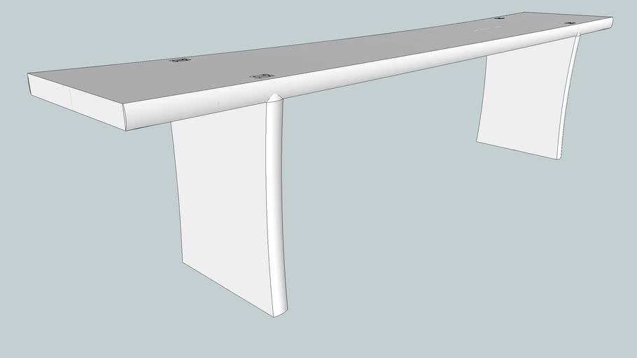 Bench based on DC's meditation stool