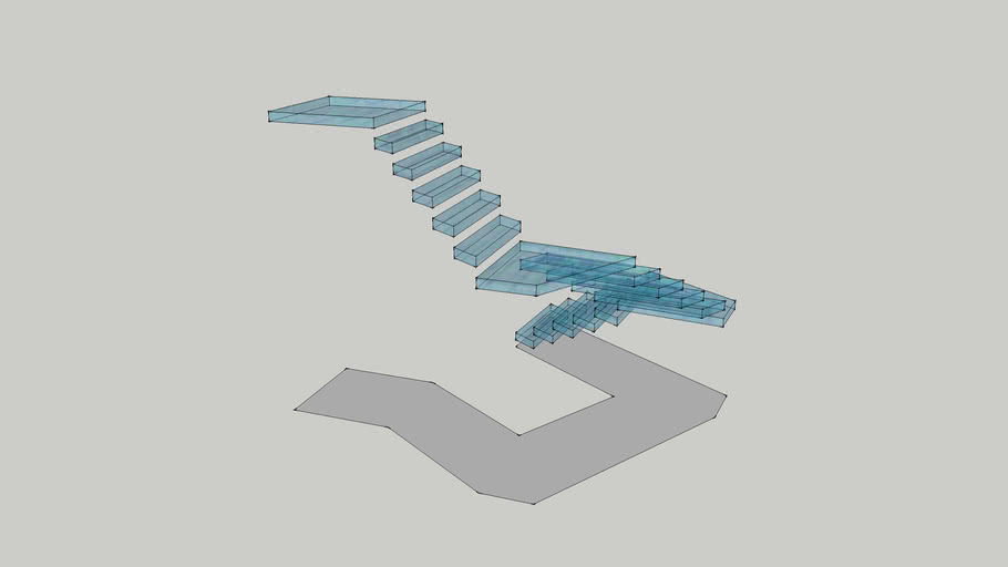 4 axis impossible stairs