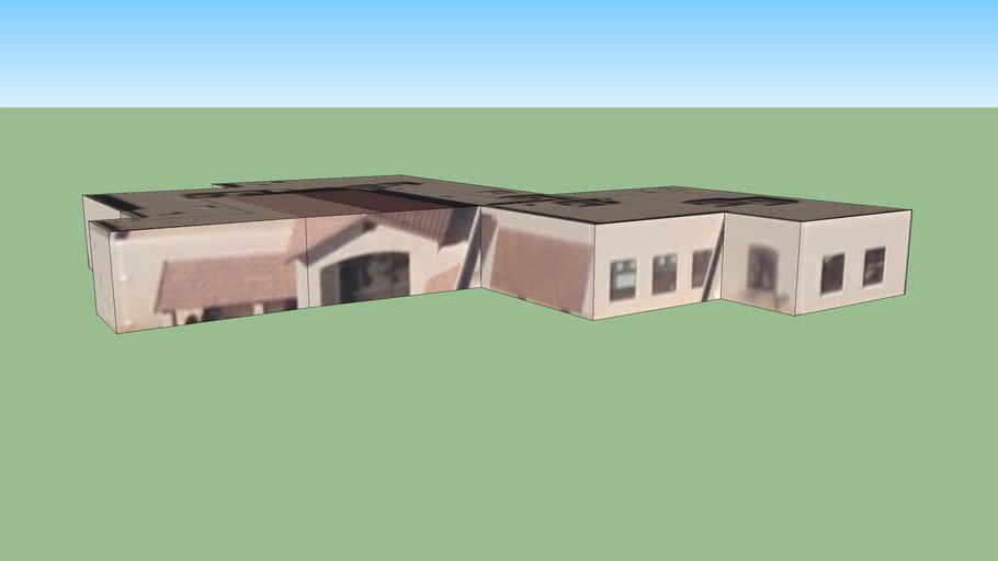 Bâtiment situé Bernalillo, Nouveau-Mexique, USA