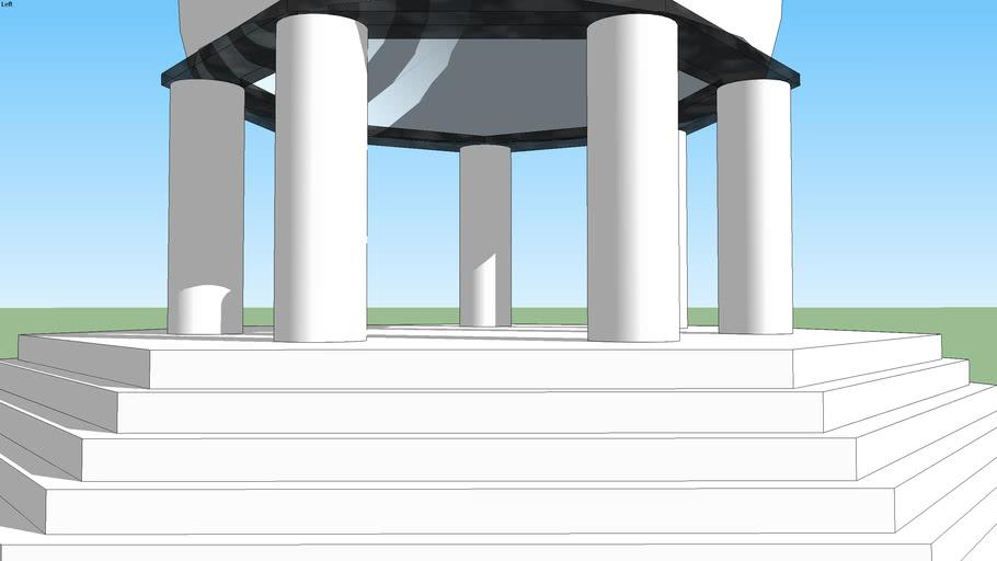 Seven Pillar Garden Temple