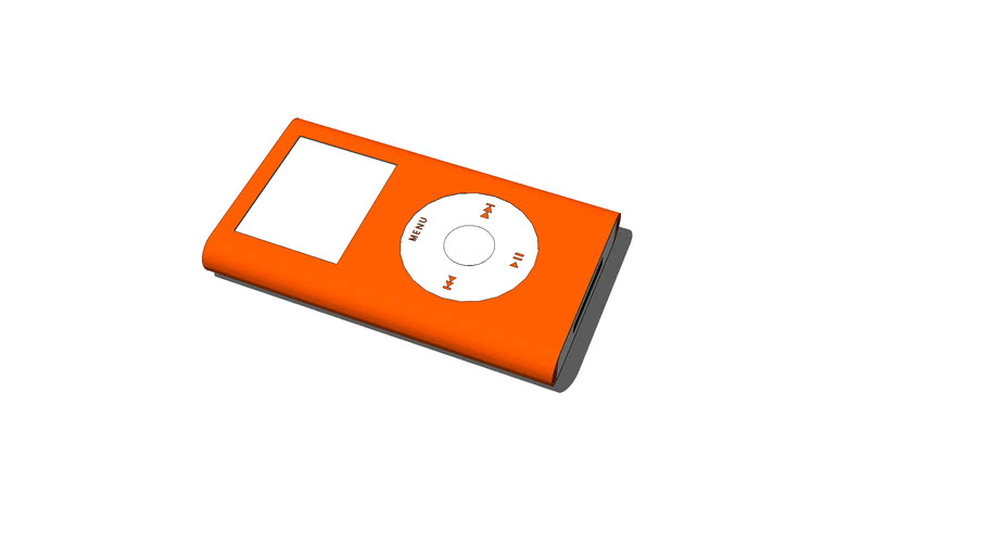 Ipod Mini (1st Generation) Orange (Not Offical Color)