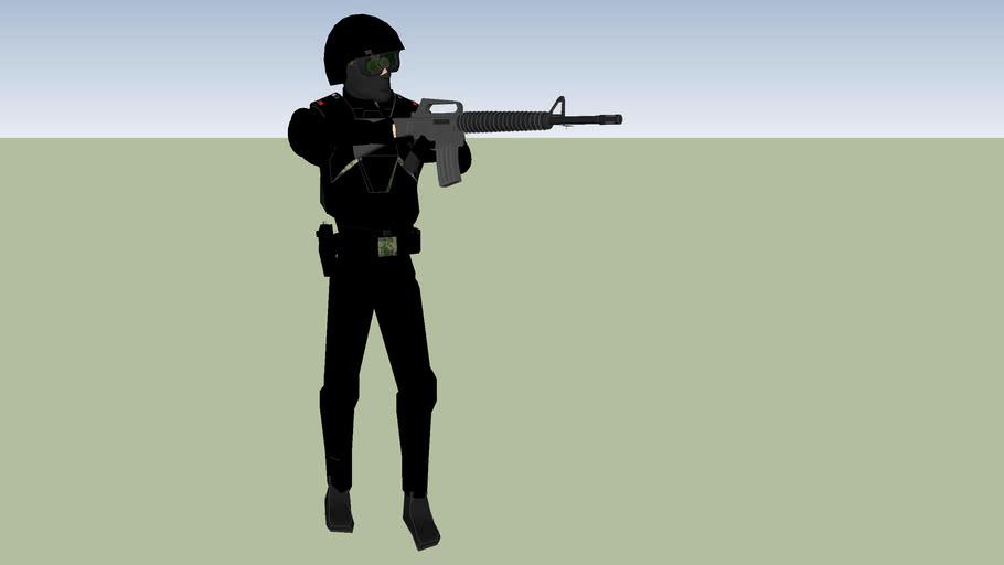 policia municipal  grupo tactica especiales operativo arandas jalisco mexico swat