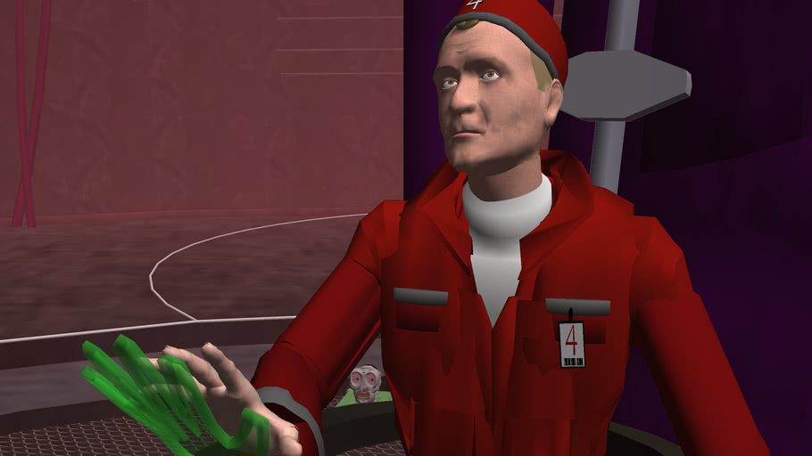 Stanley H. Tweedle - Captain of the Lexx (3D)