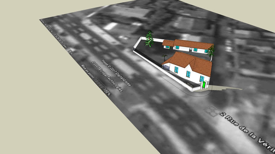 Maison Dufour 3d Warehouse