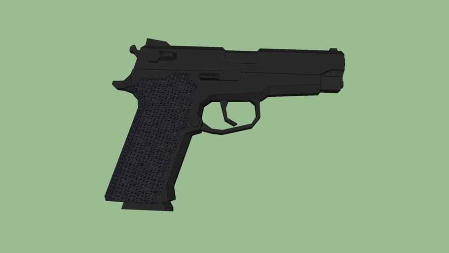 arma corta 9mm  Smith & Wesson