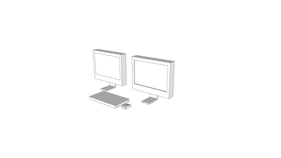 X4122 - Console, PACS, Remote View, 2k X 2k, 2 Monitors