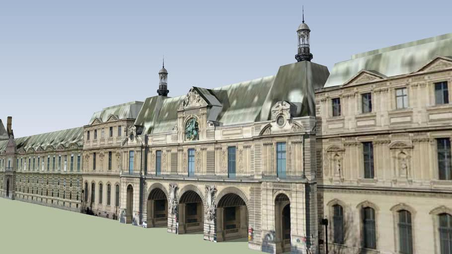 Le Louvre - Aile Flore