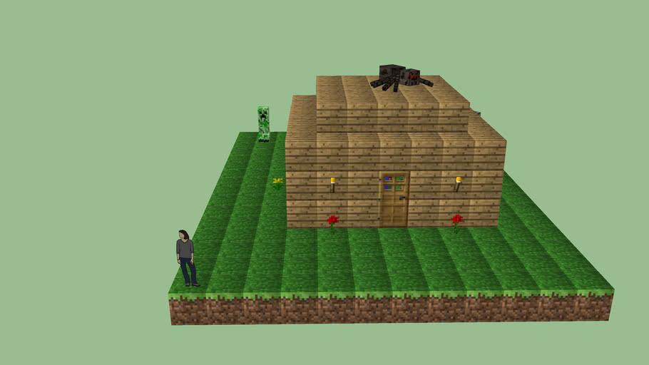 A Minecraft Scene