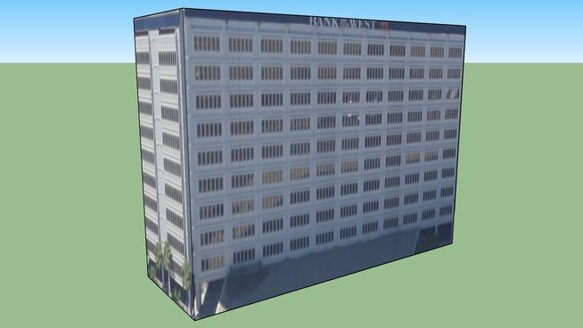 Construção em South Montebello, Commerce, CA, EUA