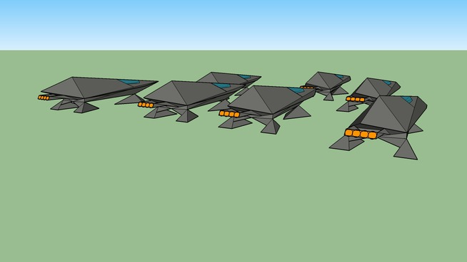 space ship formation