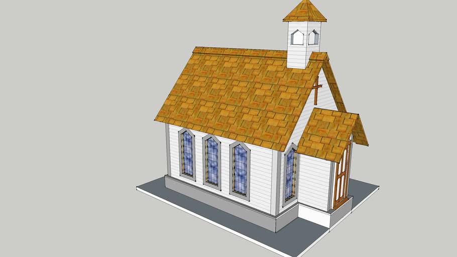 H O Scale Church