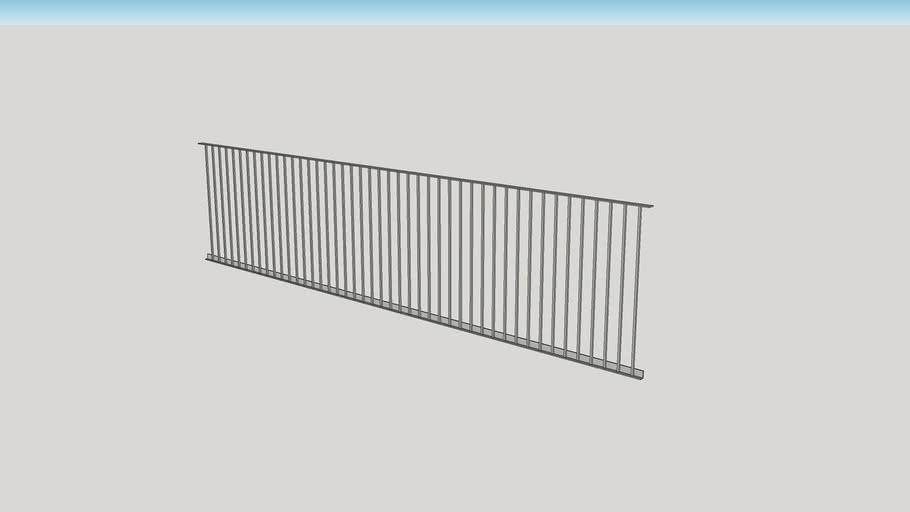 simple metal railing