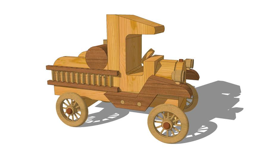 Toy Model-T Fire Truck