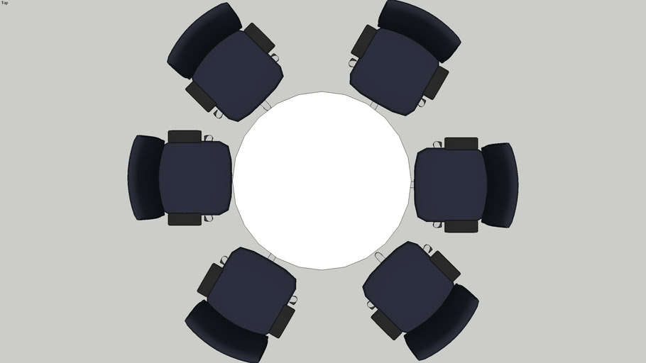 1200mm Round Table