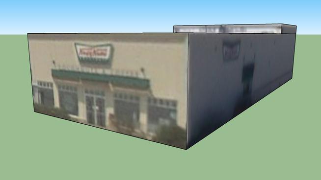 Krispy Kreme Building in San Antonio, TX, USA