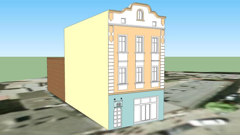 TENEMENT HOUSE ON 57 SNIADECKICH STREET IN BYDGOSZCZ