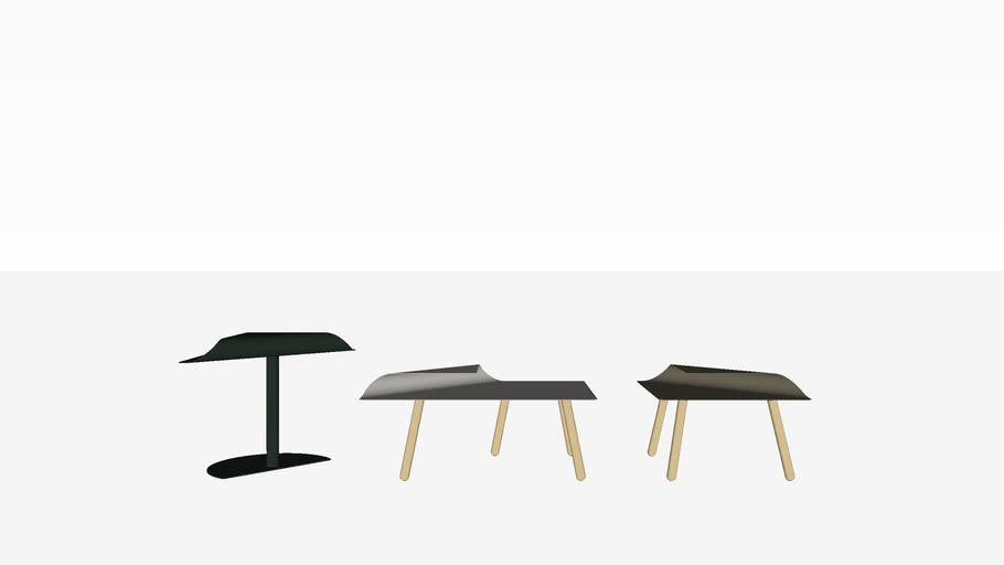 Casala Nivo side & coffee table