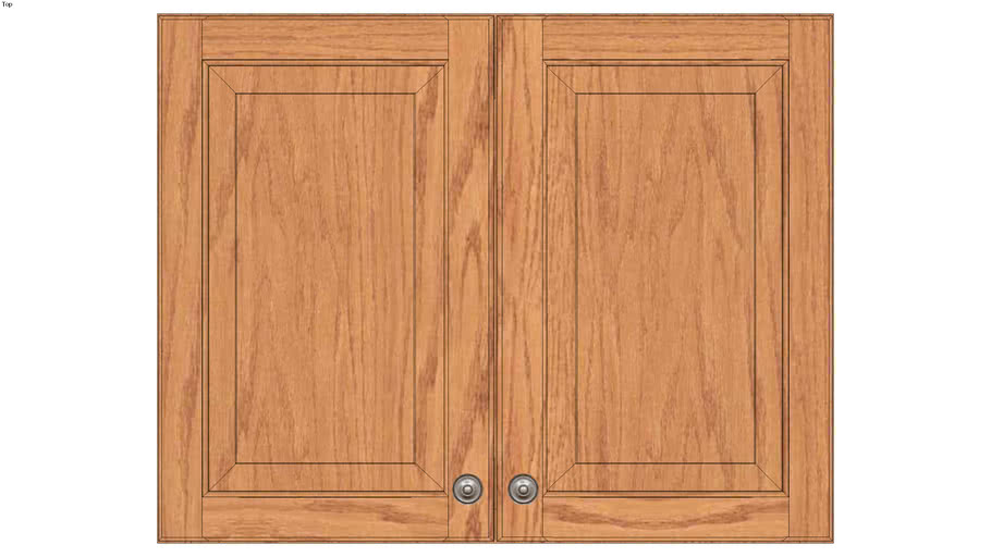 Wall Double Door 24Hx15D