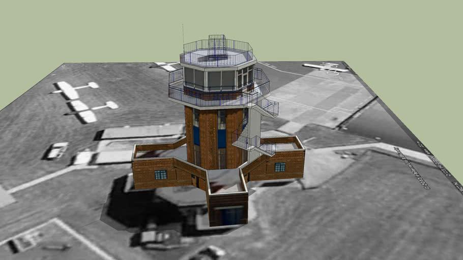Barton Aerodrome Control Tower - Salford