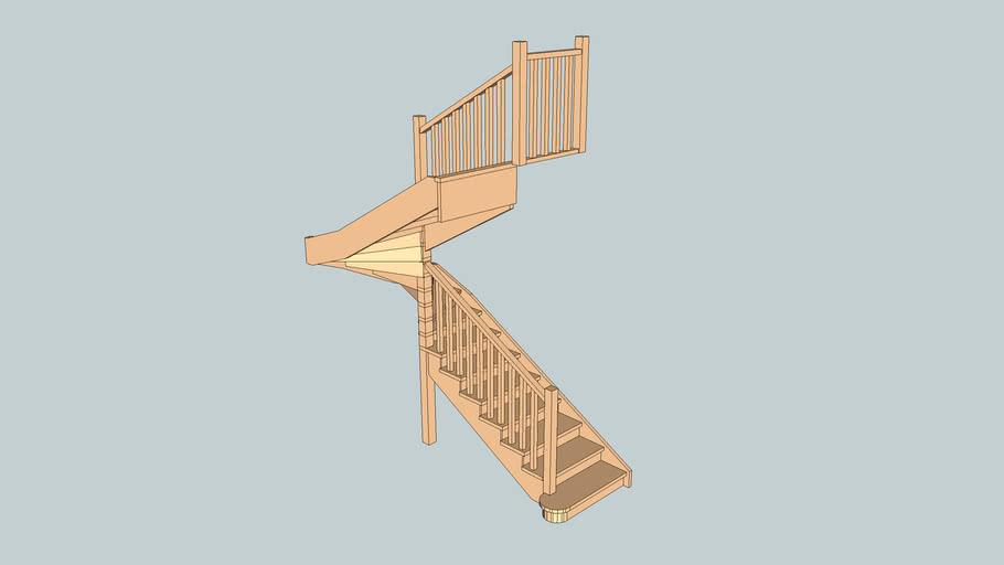 Лестница_L038