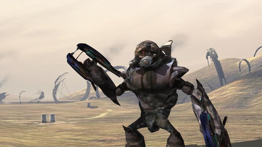 Halo 3 Textured Spec-ops Grunt (not 2d)