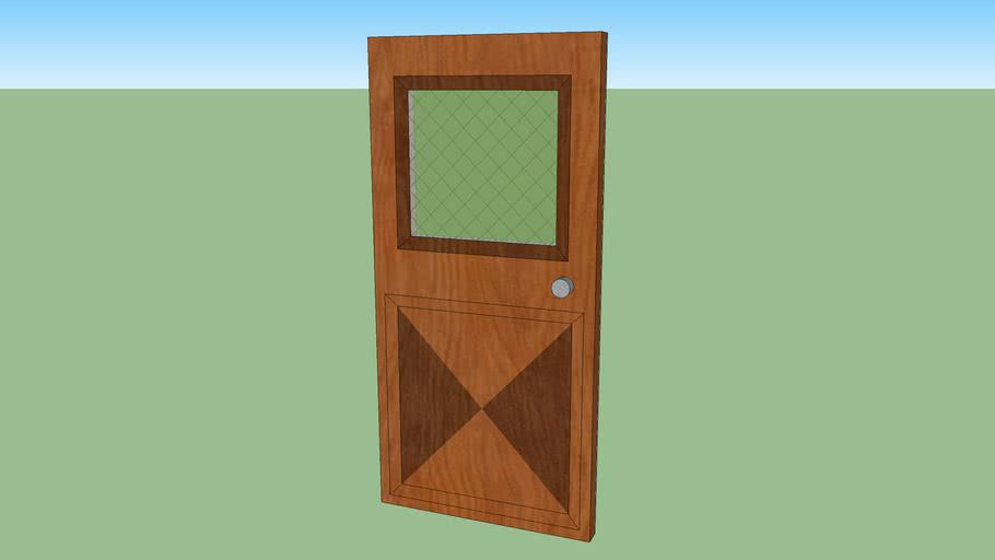 PieDesign Old Style Door