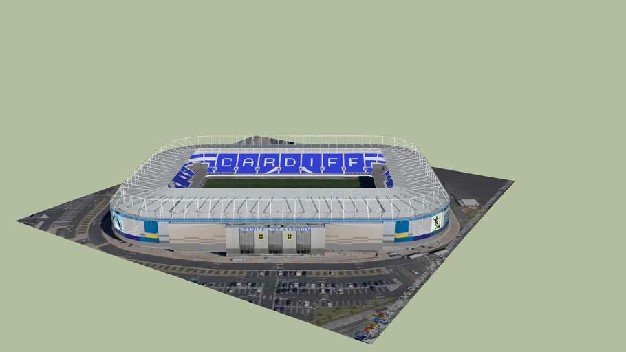Blue Birds CCFC Cardiff City Football Club Stadium