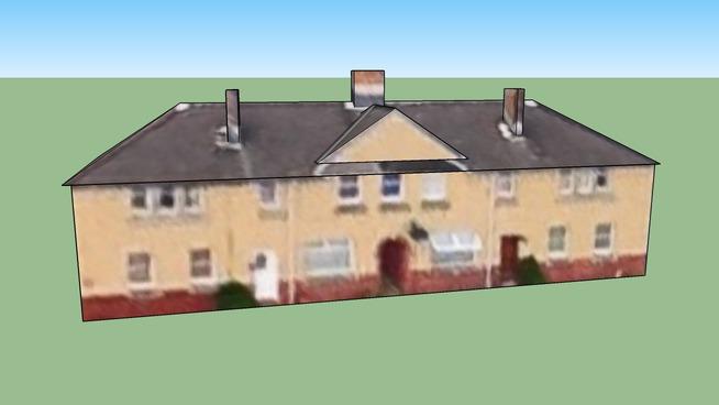 爱丁堡 EH11 2RP, (大不列颠)联合王国的建筑模型
