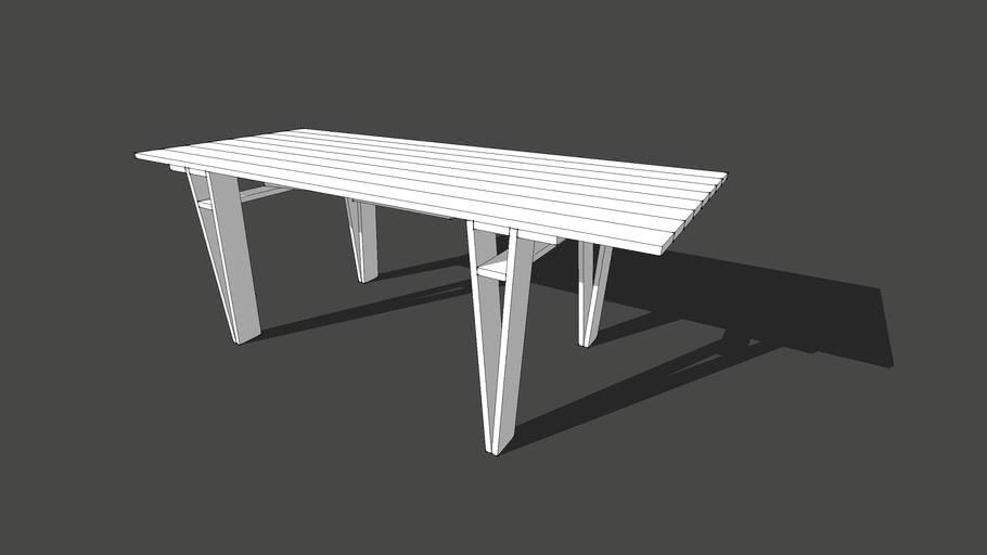 Enzo Mari Autoprogrettazione Table