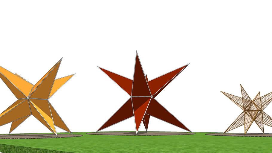 Star Landscape Design in Park