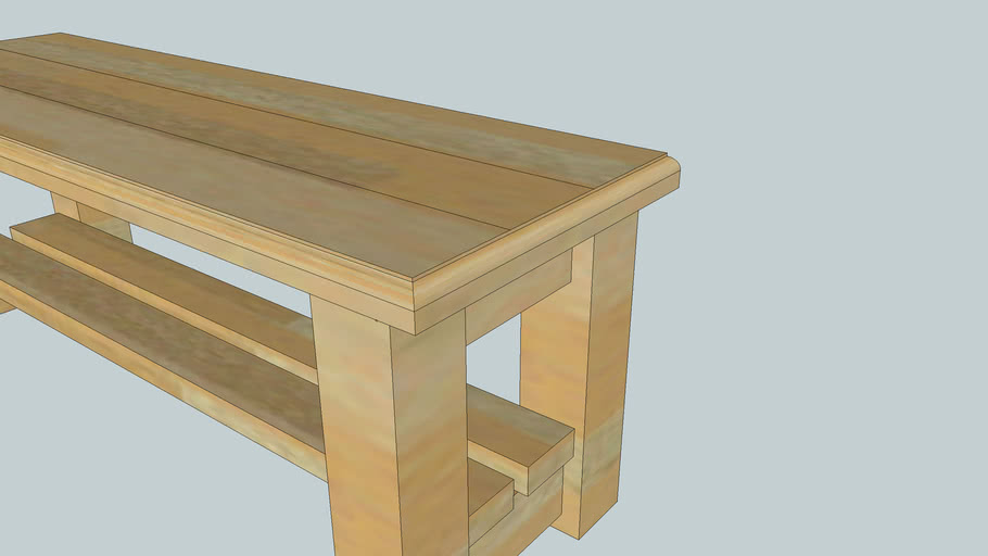 Another Wood Bench