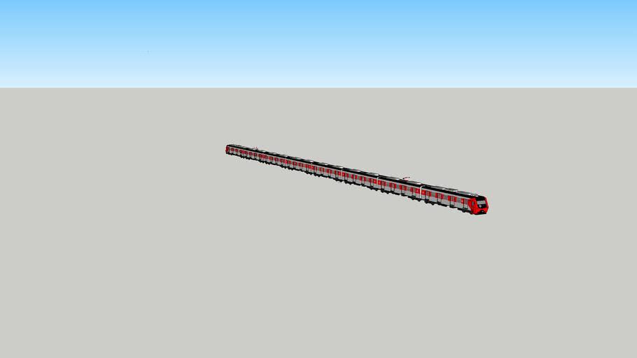 Trem Série 9000 da CPTM