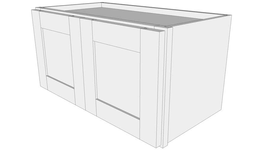 Bayside Wall Cabinet W2412b 12 Deep